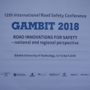 GAMBIT 2018 - XII International Road Safety Conference - Gdansk / Poland