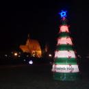 CHRISTMAS TREE MADE OF PLASTIC BOTTLES - Pronatura for Bydgoszcz residents - Bydgoszcz Poland
