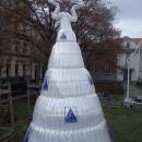 BYDGOSZCZ CHRISTMAS FAIR - bottle Christmas tree - Bydgoszcz / Poland