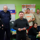 CARITAS - meeting with the homeless - Bydgoszcz / Poland