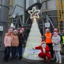 ENERIS PROECO - bottle Christmas tree - Bydgoszcz / Poland