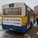 ODBLASK TO NIE OBCIACH - prezentacja autobusu - Płock