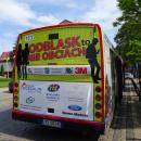ODBLASK TO NIE OBCIACH - prezentacja autobusu - Kołobrzeg