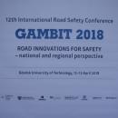 GAMBIT 2018 - XII Międzynarodowa Konferencja Bezpieczeństwa Ruchu Drogowego - Gdańsk