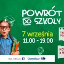 POWRÓT DO SZKOŁY - odblaskowo z Galerią Zielone Wzgórze - Białystok