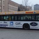 ODBLASK TO NIE OBCIACH - prezentacja autobusu - Łódź