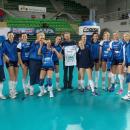 MKS MUSZYNIANKA - koszulka z autografami zespołu - Bydgoszcz