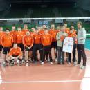 JASTRZĘBSKI WĘGIEL - koszulka z autografami zespołu - Bydgoszcz