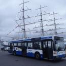 ODBLASK TO NIE OBCIACH - prezentacja autobusu - Gdynia