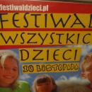FESTIWAL WSZYSTKICH DZIECI - promujemy