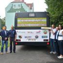 ODBLASK TO NIE OBCIACH - prezentacja autobusu - Piła