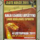 GADŻETY - plakat z autografami gwiazd polskiej lekkoatletyki dla firmy DECOR-BET - Bydgoszcz