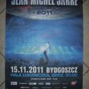 JMJ W BYDGOSZCZY - koncert Jean Michel Jarre i plakat z jego autografem - Bydgoszcz