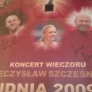 GADŻETY - plakat z autografami gwiazd polskiej lekkoatletyki dla Restauracji Pałacowa - Bydgoszcz