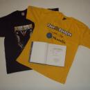 GADŻETY - 2 koszulki i książka z autografami Czesława Langa dla firmy BAS - Bydgoszcz
