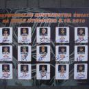 GADŻETY - tablica z autografami uczestników Grand Prix 2010 dla firmy Uni-Tech - Bydgoszcz