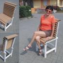 DRUGIE ŻYCIE ŚMIECI - tekturowe krzesło - Bydgoszcz