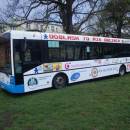 ODBLASK TO NIE OBCIACH - prezentacja autobusu - Brodnica
