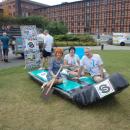 IV PIKNIK BYDGOSKICH ORGANIZACJI POZARZĄDOWYCH - butelkowa łódka - Bydgoszcz