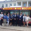 ODBLASK TO NIE OBCIACH - prezentacja autobusu - Siedlce