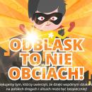 ODBLASK TO NIE OBCIACH - prezentacja akcji - Wałbrzych
