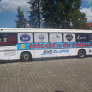 ODBLASK TO NIE OBCIACH - prezentacja autobusu - Słupsk