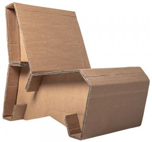 Miniatura produktu Tekturowy fotel