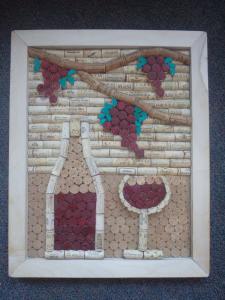 Miniatura produktu Korkowy obrazek - wino