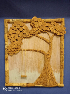 Miniatura produktu Korkowy obrazek - drzewo