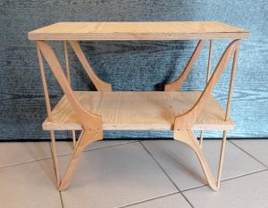 Miniatura produktu Wieszakowy stolik